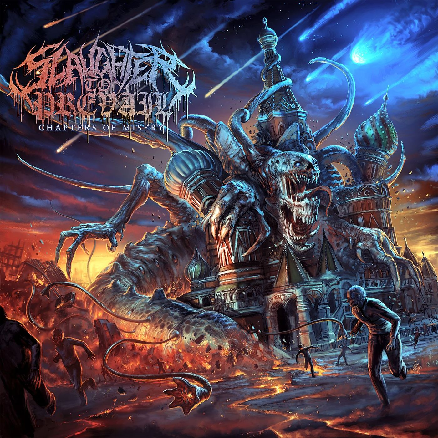 Slaughter to Prevail - Chapters of Misery [EP] (2016)