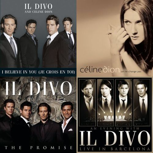 Playlist il divo sur deezer de sylvie marionneau - Il divo i believe in you ...