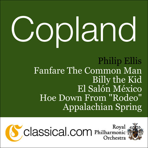 Aaron copland fanfare for the common man philip ellis for Aaron copland el salon mexico