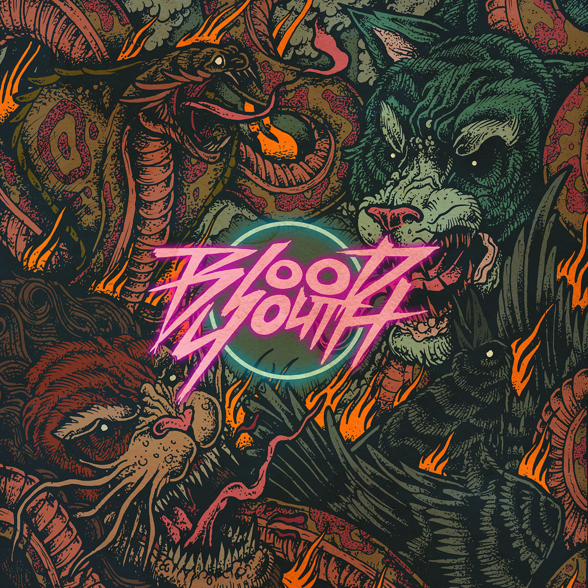 Blood Youth - Inside My Head [EP] (2015)