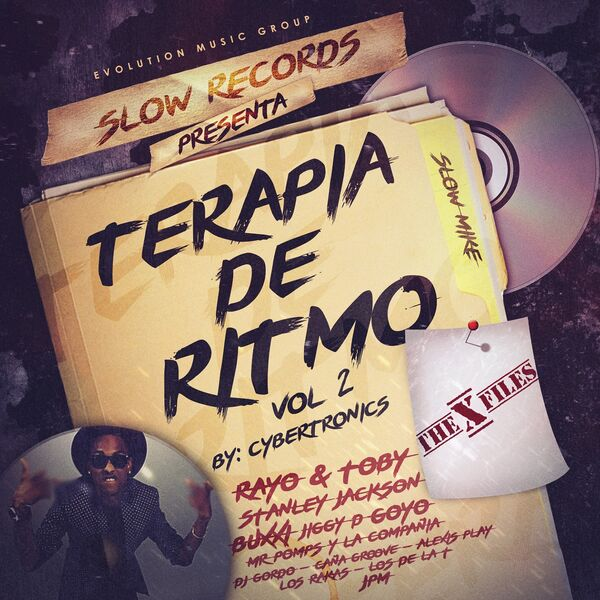 Cybertronics & Slow Mike - Terapia De Ritmo Vol. 2 (2015) [MP3 @320 Kbps]