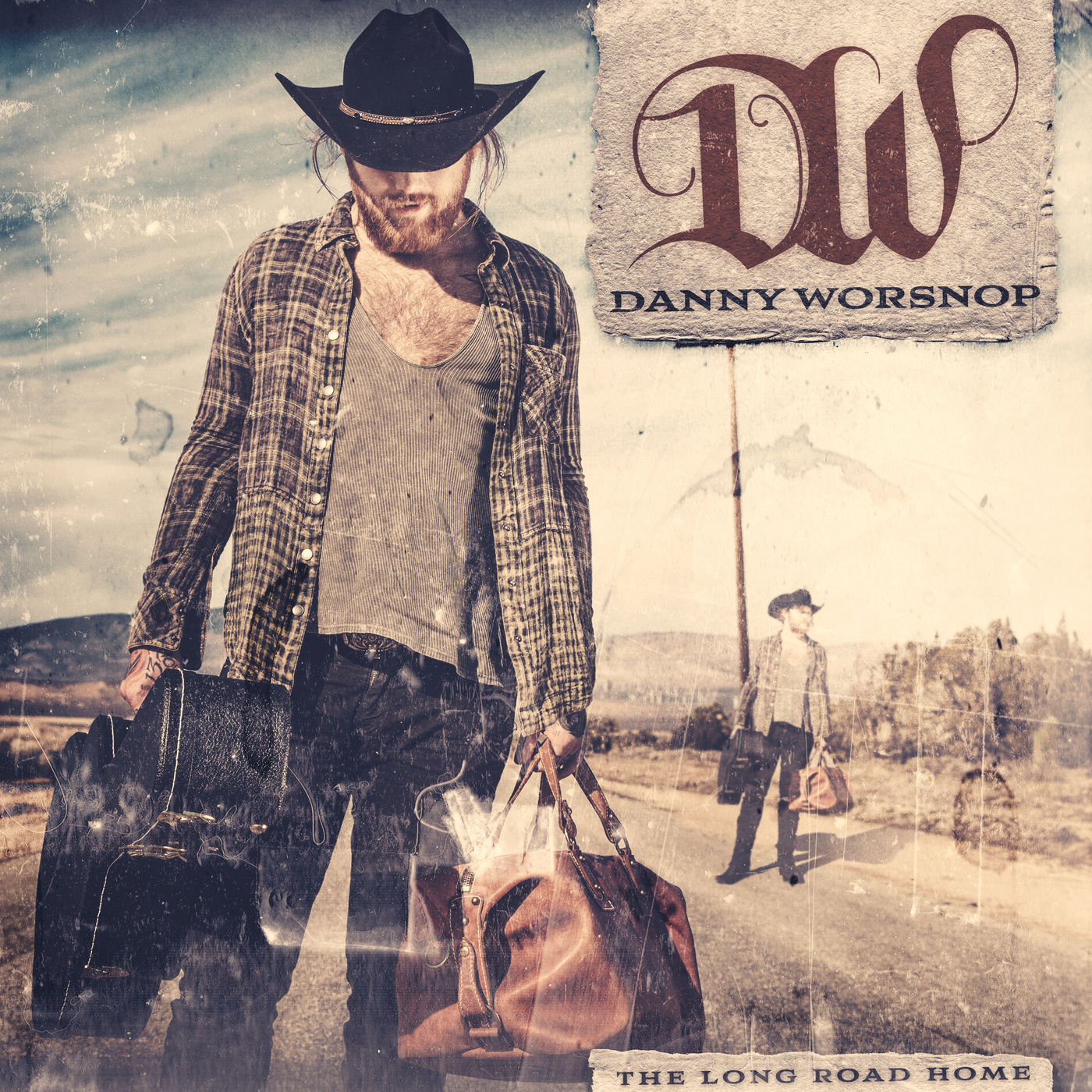 Danny Worsnop - Anyone But Me [single] (2017)
