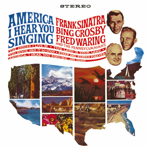 Bing Crosby - Fred Waring and The Pennsylvanians Fred Waring And The Pennsylvanians We Wish You The Merriest * Go Tell It To The Mountain