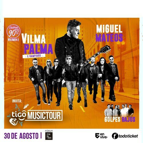 Escuchá la Playlist Vilma Palma - Miguel Mateos - Golpes